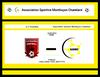 Affiches des matchs - Association Sportive Montluçon Chatelard