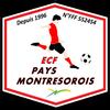 logo du club Entente des Clubs de Football du Pays Montrésorois