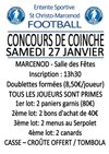 CONCOURS DE COINCHE - Entente Sportive Saint Christo Marcenod Football
