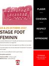 stage foot féminines 14-17 et Séniors - FC ROUILLAC