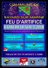 Journée Pétanque/Jeux/Feu D'artifice/Concerts du 18 Août 2018 - FOYER BAYARD