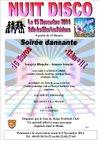 Soirée dansante / Thème  DISCO - GUE DE SENAC FOOTBALL CLUB