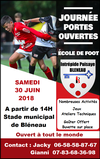 Journée Portes Ouvertes - I.P BLÉNEAU FOOTBALL