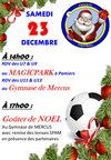 Affiche Noël - Entente Football SPAM