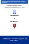 Coupe Gambardella 2018-2019, premier match de la rentrée : Dimanche 9 septembre à domicile !⚽️ - Union Générale Arménienne Lyon-Décines