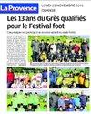 U13 le 21.11.2015 - Union Sportive Grès Orange Sud (club de football)
