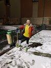 Les vieux à la neige !!!! - Union Sportive Saint-Victor Malescours