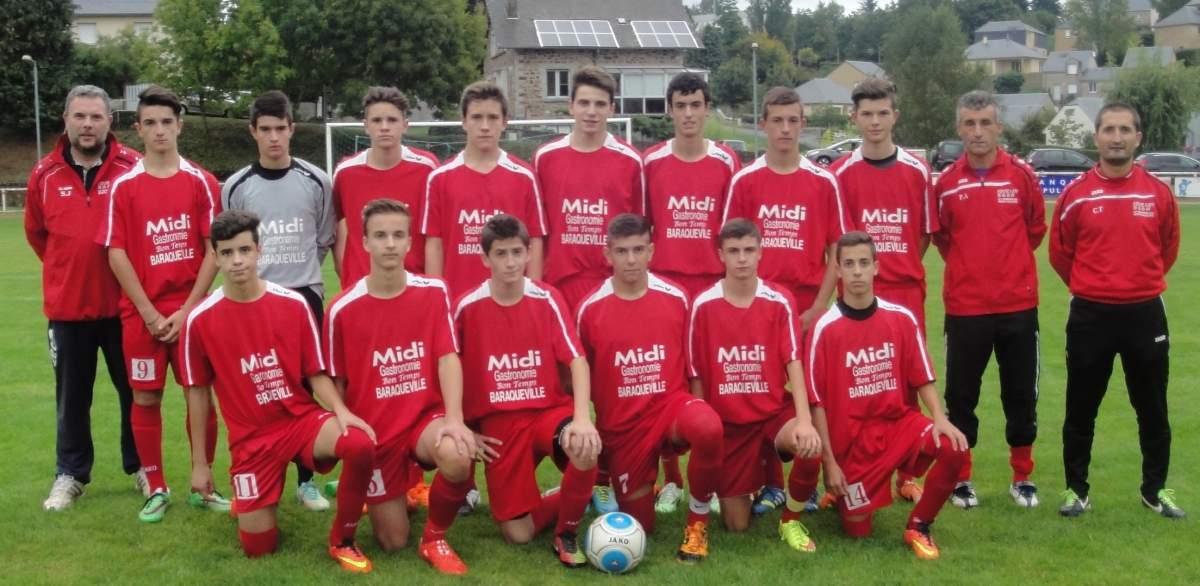 U17 équipe 1 (nés en 1999 - 2000)