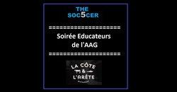 AAG - 05/02/2018 - 2ème Soirée entre éducateurs de la saison - Association Amicale Grisolles