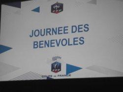 100 ans Coupe de France, journée des bénévoles, à PARIS le 27 Mai 2017 la ligue d'Aquitaine bien représentée a cette journée - AMICALE DES EDUCATEURS DE CHARENTE-MARITIME