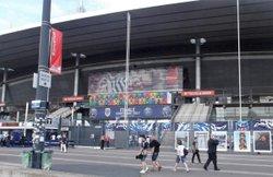 Quelques photos, le Stade de France, échauffement, SCO Angers et PSG,  et sacre du PSG - AMICALE DES EDUCATEURS DE CHARENTE-MARITIME