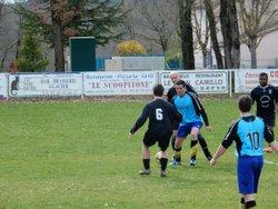 L'équipe B recevait Aubeterre. Score 2-4 - AM.S VOEUIL ET GIGET