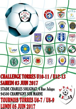CHALLENGE TORRES 2017 - CATEGORIES U10-U11 et U12-U13 - A.P.A.C CHAMPIGNY SUR MARNE