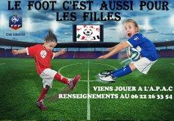 LE FOOT C'EST AUSSI POUR LES FILLES - A.P.A.C CHAMPIGNY SUR MARNE