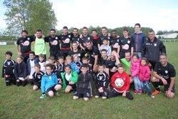 dimanche 22 Mai 2016: Montée des seniors A en promotion ère division - ARDANAVY  FOOTBALL   CLUB