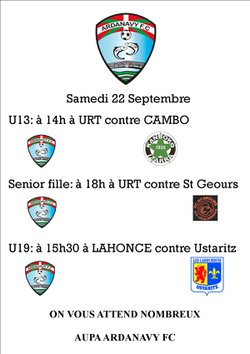 week end du 22 et 23 /09