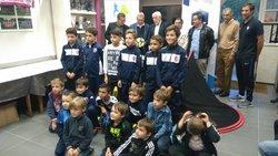 Remise du label FFF à l'école de foot pour les saisons 2017-2020 - Association Sportive Aixoise