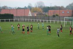 Victoire des U18(1) 2 - 1 face à Ecourt - AMICALE SPORTIVE DE BEAURAINS