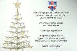 Arbre de Noel de l'ASB !! Samedi 17 décembre 2016 - AS Beautiran Football Club