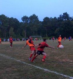1er match amical Seniors au Nizan ! Victoire 1 à 0 sur un but de Susu ! 16/08/17 - AS Beautiran Football Club
