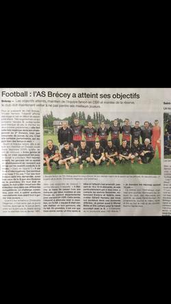 2016-2017 - As Brécey