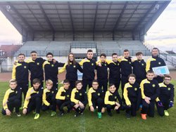 Groupe U15 2017/2018 - Association Sportive Chapelloise