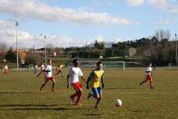Match U17 Chateauneuf du Rhône Coupe Vivier Boudrier - Association Sportive de Cornas