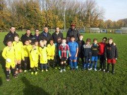 match amical U/U9 contre U10 - AS CUINCY FOOTBALL