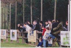 RUBRIQUE : VIEUX CRAMPONS ET VIEILLES CHAUSSETTES : FEVRIER 2001 A LABRESPY - A.S. Payrin Rigautou