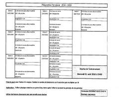 Programme de la reprise individuelle - Association Sportive de Thorigné sur Dué