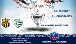 Ouverture de la saison 2015-2016 - Coupe de France - ASSOCIATION SPORTIVE DE TRONGET