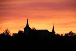 13/06/2017 Coucher de soleil sur Hellering - AS BETTBORN HELLERING