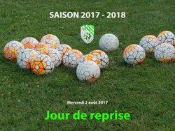 SAISON 2017 - 2018 : JOUR DE REPRISE - ASCCL