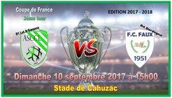 Affiches Coupe de France août 2017 - ASCCL