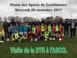 Visite de la DTN à l'ASCCL le 29/11/2017 - ASCCL