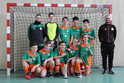 Victoire de l'équipe U15 en coupe Futsal - AAS CLERY MAREAU FOOTBALL CLUB