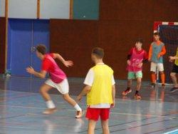 entrainement en salle - EU FC