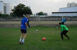Entrainement gardien de but avec Yves - Association Sportive des Cheminots de l'Ouest (A.S.C.O.)