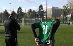 A.S.C.O. (U17A) Championnat contre SALESIENNE - Association Sportive des Cheminots de l'Ouest (A.S.C.O.)