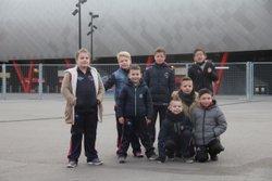 Nos petits a Valenciennes .  Retrouver toute les photos sur la page Facebook https://www.facebook.com/cheminotdedouai/ - A.S.Douai-Lambres Cheminots
