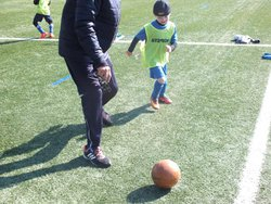 Entrainement u8 se mercredi 19 avril - AS DOMARIN
