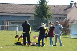U17 F : COURSON (1 - 3) ST FARGEAU (24/03/2018) - Alliance Sportive Football Courson-les-Carrières