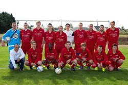 EQUIPE SENIORS 15 SEPTEMBRE 2013 - AS LOUVIGNE FOOT