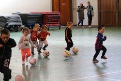 Entrainement baby ballon le 16092017 - Association sportive municipale RIVERY