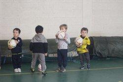 Entrainement des baby ballons le 10/02/2018 - Association sportive municipale RIVERY