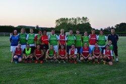 Reprise des entraînements Féminines le 21 Août 2015 - Association Sportive Mellecey-Mercurey