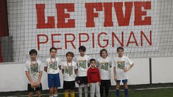 STAGE FOOT - AS PRO-TRAINING GAMES AU FIVE DE PERPIGNAN - JOURNÉE DU 05.01.2018 - ASSOCIATION SPORTIVE DE PRO-TRAINING GAMES