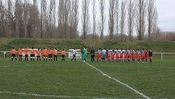 féminine a 11 contre F.C. LARNAGE SERVES - AS ST BARTHELEMY DE VALS