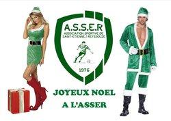 JOYEUX NOEL A TOUS - AS Saint Etienne sur Reyssouze