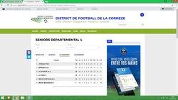 classement equipe B - Association Sportive de Saint-Viance